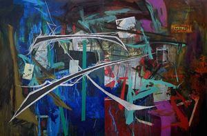 HISTORY KEEPS ME AWAKE AT NIGHT by Ian Tee contemporary artwork