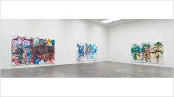 Contemporary art exhibition, Aaron Garber-Maikovska, 4 from 3 dancers at Blum & Poe, Los Angeles, USA