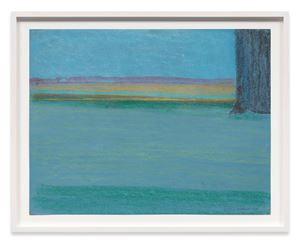 Tree Trunk with River by Richard Artschwager contemporary artwork