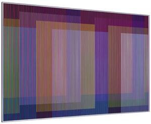 Physichromie 1927 by Carlos Cruz-Diez contemporary artwork