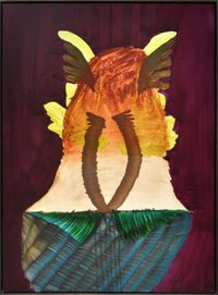 Monument by Belem Lett contemporary artwork painting