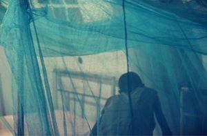 Under the blue skies of Agok #1 by Alec Von Bargen contemporary artwork