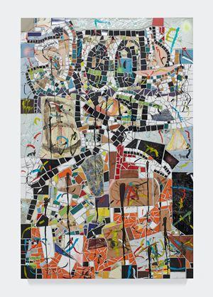 Portrait of a Broken Man by Rashid Johnson contemporary artwork
