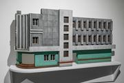 Modernist Facades for New Nations (Sculptural Proposition 3) by Sahil Naik contemporary artwork 1