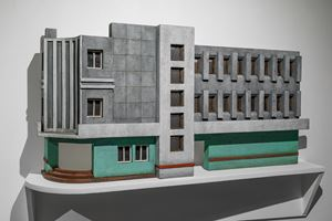 Modernist Facades for New Nations (Sculptural Proposition 3) by Sahil Naik contemporary artwork