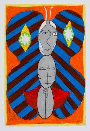 Untitled (moth) #28 by Brendan Huntley contemporary artwork