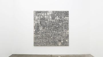 Contemporary art exhibition, Martin Poppelwell, the edge of the alphabet at Jonathan Smart Gallery, Christchurch