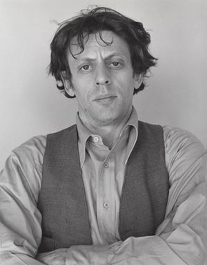 Philip Glass by Robert Mapplethorpe contemporary artwork