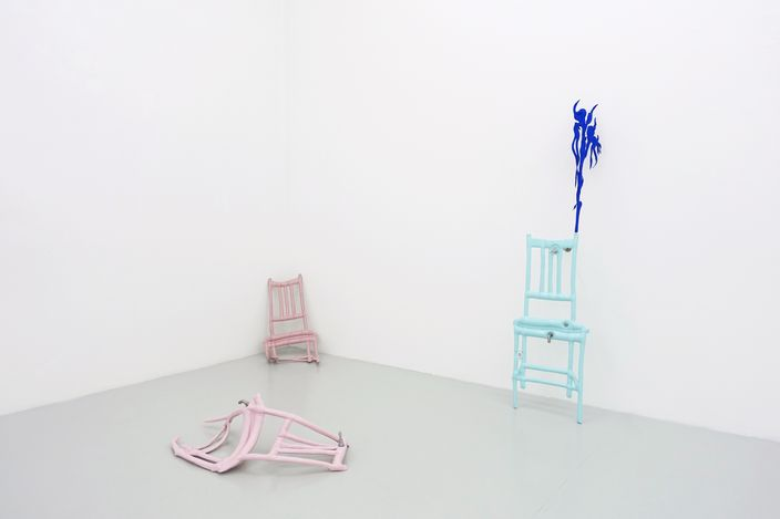 Exhibition view: Caroline Rothwell, Corpus,Yavuz Gallery, Singapore (20 March-18 April 2021). Courtesy Yavuz Gallery.