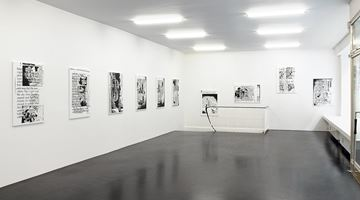 Contemporary art exhibition, Michael Krebber, Respekt Frischlinge at Galerie Buchholz, Cologne