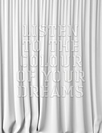 Listen to the colour of your dreams (white) by Mary-Louise Browne contemporary artwork sculpture
