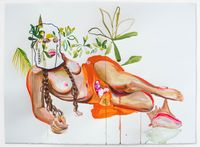 Guahi #1 by Gisela McDaniel contemporary artwork painting, works on paper, drawing