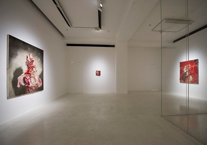 Anthony Micallef, Raw Intent, 2016, Exhibition view, Pearl Lam Galleries, Hong Kong. Courtesy Pearl Lam Galleries, Hong Kong.
