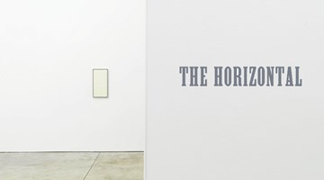 Contemporary art exhibition, Group Exhibition, The Horizontal at Cheim & Read, New York