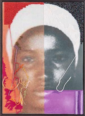 Boko Haram no. 5 by Farhad Ahrarnia contemporary artwork