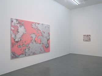 Toby Ziegler, Post-human paradise, 2016 at Simon Lee Gallery, London. Photo: courtesy of Simon Lee Gallery.