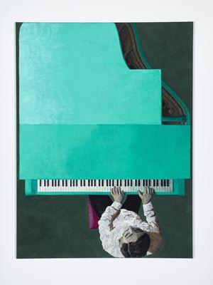A Minor by Lenz Geerk contemporary artwork