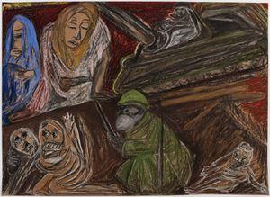 WAR 1914–1918 by Jacqueline de Jong contemporary artwork