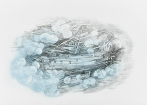 Shipwreck (Objects from the Deep) by Naiza H. Khan contemporary artwork