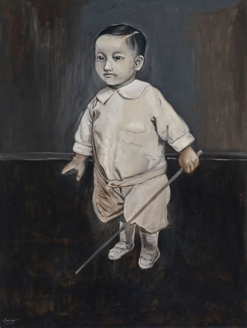 Will You Be My Grandfather? by Marina Cruz contemporary artwork