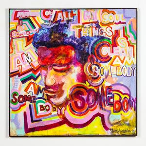 I Am Somebody by Gerald Williams contemporary artwork