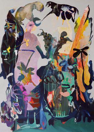 Petite Mort by David Lehmann contemporary artwork painting