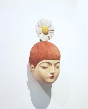 Word Coming Inwards: Flower by Daisuke Teshima contemporary artwork