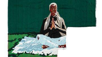 Contemporary art exhibition, Billie Zangewa, Flesh and Blood / Running Water at Lehmann Maupin, London, United Kingdom