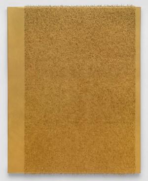 Monochrome #04 / gold by Lars Christensen contemporary artwork painting