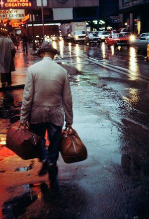 Randolph Street, Chicago by Vivian Maier contemporary artwork