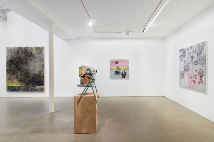 Exhibition view: Group Exhibition, Greene Naftali Gallery at Galerie Chantal Crousel: Arrangement in Gray, Galerie Chantal Crousel, Paris (17 October 2020–14 January 2021). Courtesy Galerie Chantal Crousel, Paris. Photo: Martin Argyroglo.