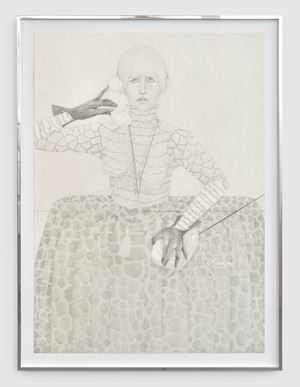 The Call by Donna Huanca contemporary artwork