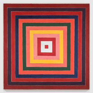 Concentric Squares by Frank Stella contemporary artwork
