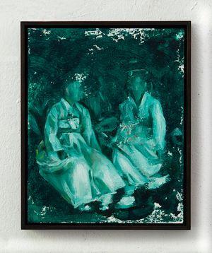 The Chat by Helena Parada Kim contemporary artwork