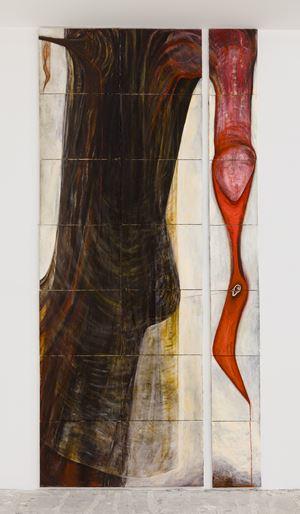 Strange Fruit by Mira Schor contemporary artwork