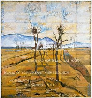 Monte Verita by Imants Tillers contemporary artwork