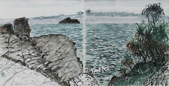 Guishan Island: Beiguan Park by Lin Chuan-Chu contemporary artwork