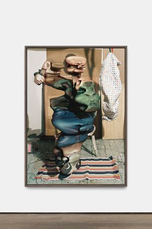 #4 Divney (Popeye) by Lucas Blalock contemporary artwork