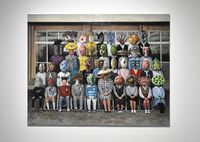 The Monster's Classroom by Tomoaki Ichikawa contemporary artwork painting