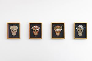 Vier Jahreszeiten [Four Seasons] by Renate Bertlmann contemporary artwork