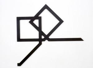 Deux carrés magiques en lettres arabes by Mehdi Moutashar contemporary artwork