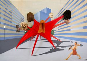 One Percent for Art by Jim Shaw contemporary artwork