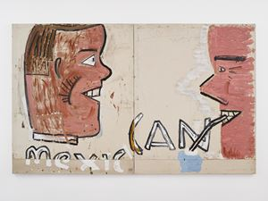 Mexican Can by Rose Wylie contemporary artwork
