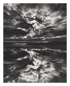 Folding Unfolding Sky by April Gornik contemporary artwork