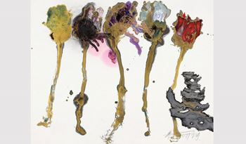 Wei Ligang's Calligraphic Abstraction