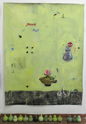 Baiacu by Paulo Nimer Pjota contemporary artwork mixed media