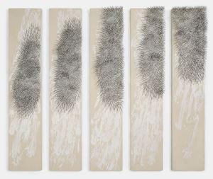 Weisser Vogel by Günther Uecker contemporary artwork