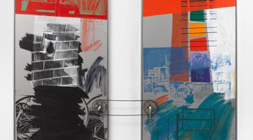 Contemporary art exhibition, Robert Rauschenberg, Channel Surfing at Pace Gallery, 540 West 25th Street, New York, USA