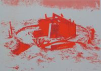 Childlike Uses of Warlike Material by Robert Filliou contemporary artwork print