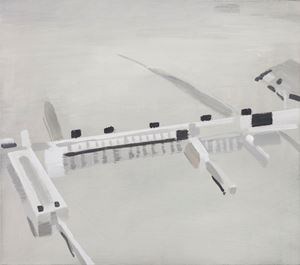 Gezhouba Dam 葛洲坝 by Mou Huan contemporary artwork